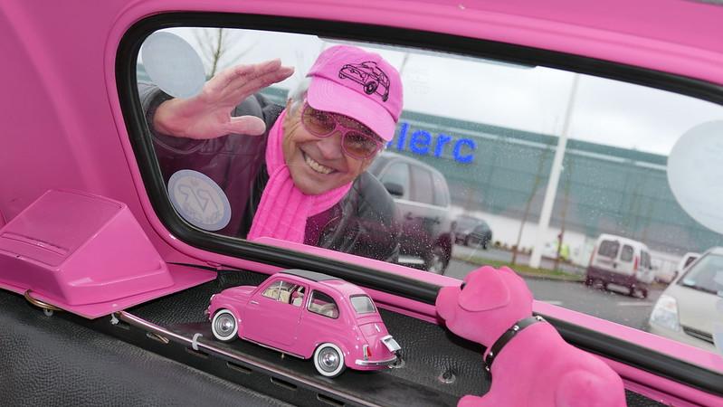 """Fiat """"pink"""" 500 - Rambouillet (78) Dim 21 Février 2016 25175206505_936a2a9c1b_c"""
