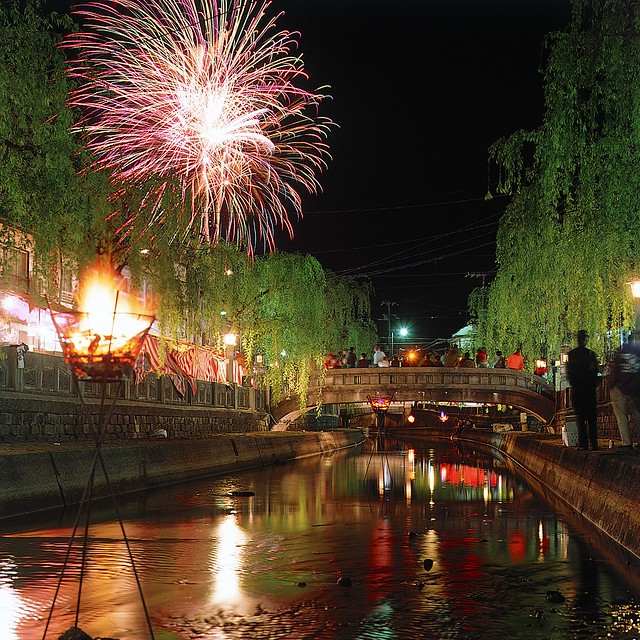 Summer Fireworks - Kinosaki Onsen