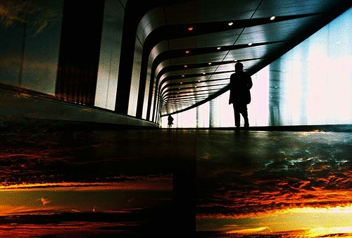 sunset london silhouette clouds dark underground lomo lca xpro lomography xprocess doubleexposure crossprocess lofi multipleexposure analogue split kingscross subterranean pedestriantunnel expiredfilm kodakelitechrome ebx colourstreambrighton