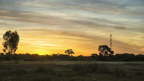 light sunset clouds rural landscape outdoors twilight bush scenery dusk sony scenic australia pylon alpha tamron westernaustralia whiteman 2470mm a99 slta99 stevekphotography