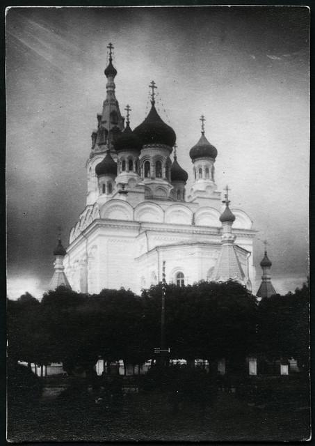 Archiv D001 Kathedrale von Minsk, 1910er
