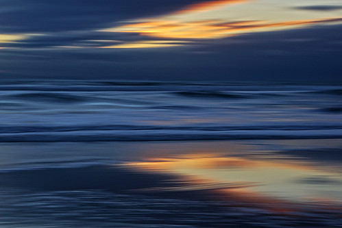 sunset sky motion blur reflection water clouds waves icm intentionalcameramovement handheldasusual