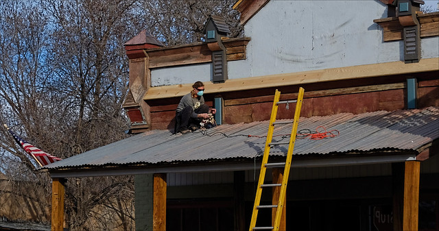 Restoration in Cerrillos New Mexico