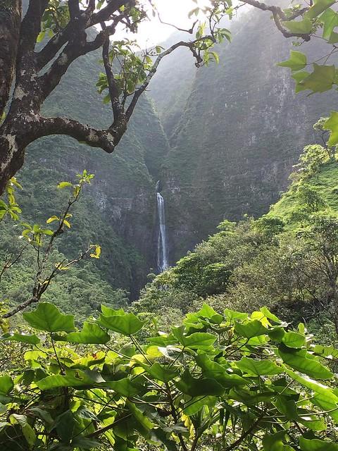 Hanakāpīʻai Falls