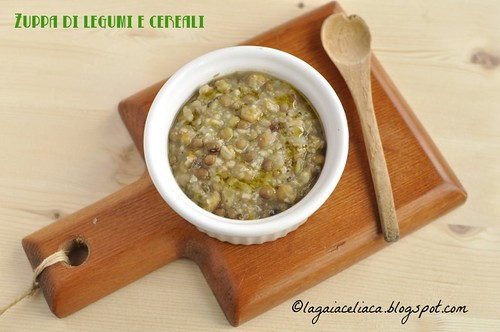 minestra legumi e cereali | by mammadaia