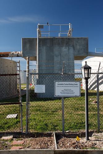 sky bird grass sign fence infrastructure portaransas sooc anthropocene leonabelleturnbullbirdingcenter