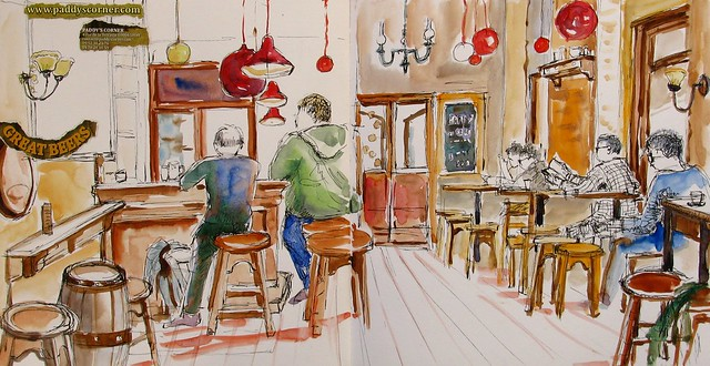 Le café Paddy's Corner N°2
