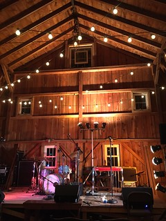 The Stage for Romantica's Barn Show | by Kevin D. Hendricks