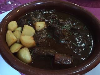 Venison in chocolate, Restaurante Dragos, Toledo, Spain | by SeppySills