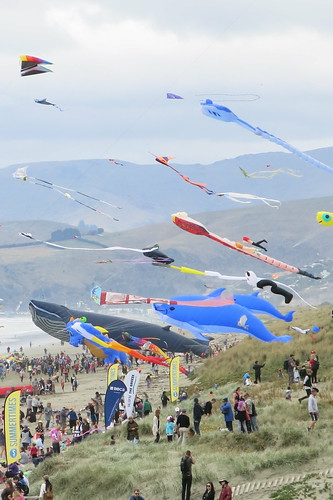 Kite day at New Brighton