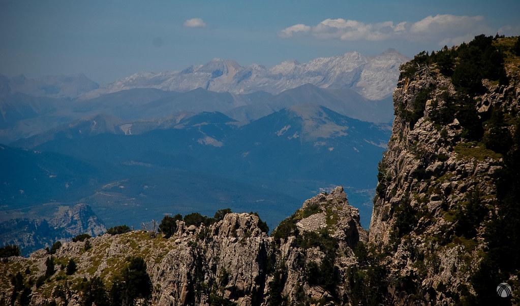 Grandes montañas por todos lados