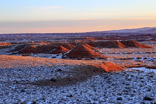 Sunrise on the Middle Desert, February 2016