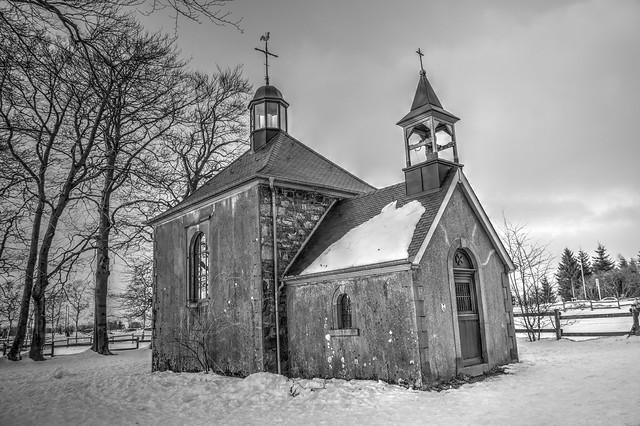 Fagnes - 08 - Chapelle Fischbach en NB