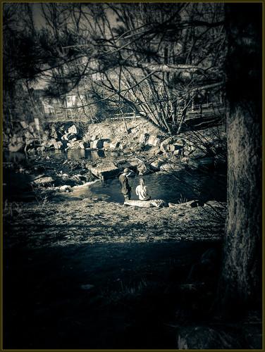 blackandwhite bw creek evening fishing colorado boulder smartphone flyfishing bouldercreek presets winterevening lightroompresets smartphonecamera splittonepreset bouldercreekboulderco ipiccy lgg3 ipiccyframes ipiccyfocus