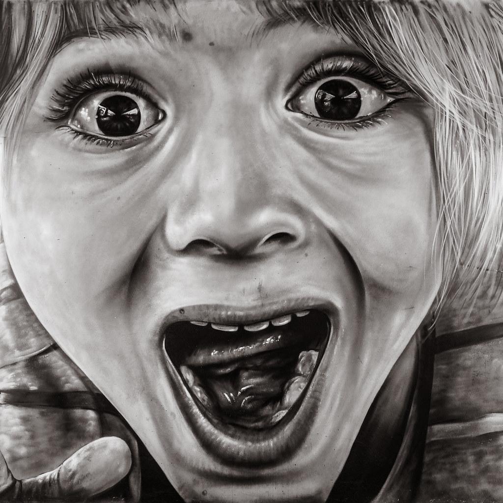 Graffiti of a Boy