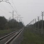Belorechenskaya - Maikop railway. Railway for speed tests of RZD