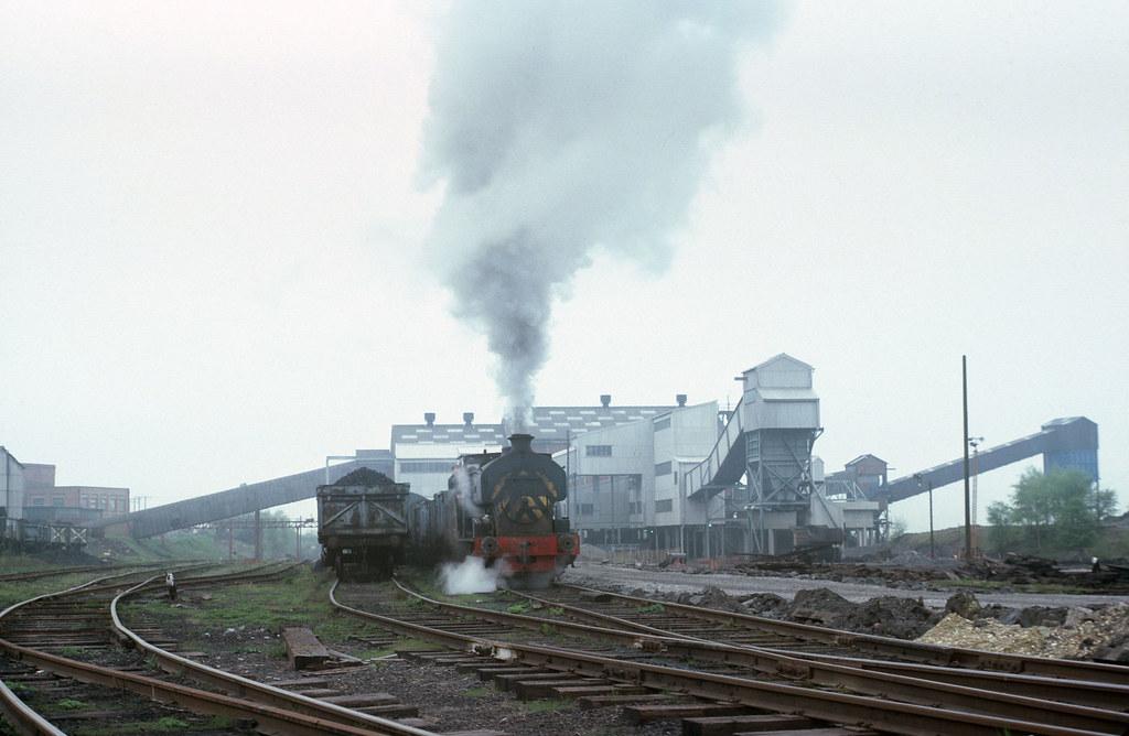 NCB Snowdown Colliery Open Day, 1978