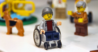 Lego - minifigure in wheelchair 1 | by Prachatai