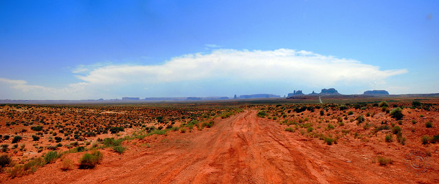 Monument Valley Overlook (3x Pano)