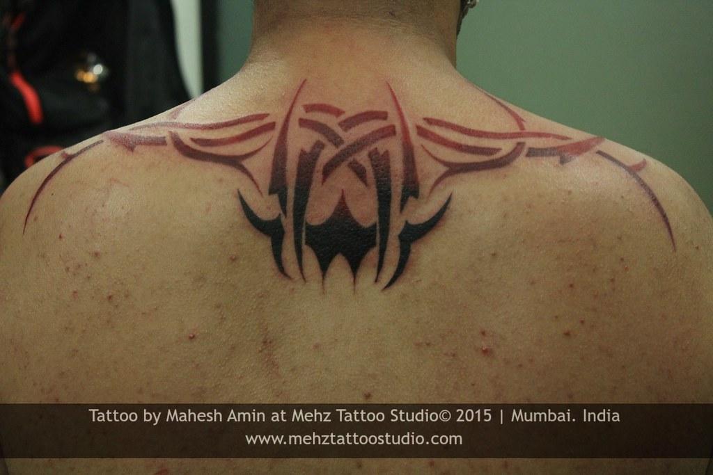 Tribal Tattoo Linkin Park Done By Mahesh Amin At Mehz Ta