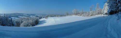 stierenberg aargau schweiz schnee winter zauber aussicht spuren fuss nikon d300 track snow view schtart photoschtartch