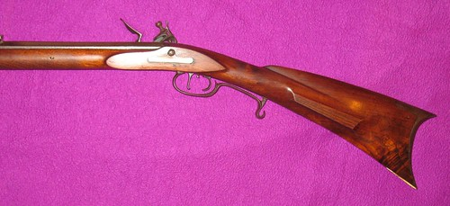 Contemporay Flintlock Long Rifle