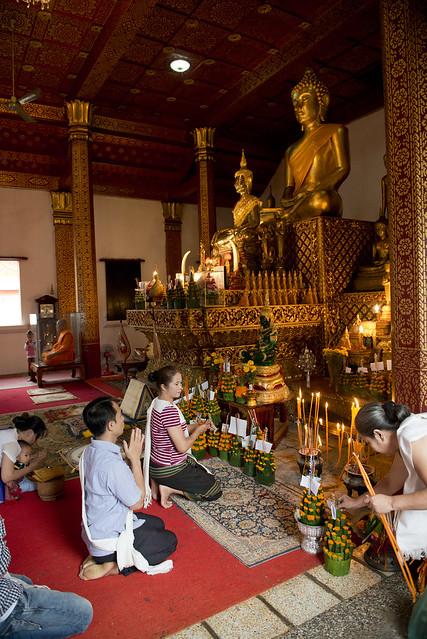 LAO253 Boun Khao Pansa - Luangprabang 194 - Laos