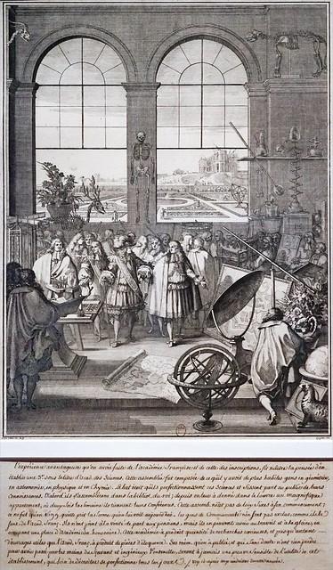 Visite de Louis XIV au Jardin du Roi (Bibliothèque nationale de France)
