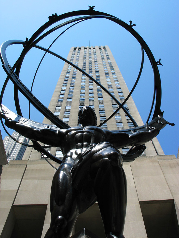 Atlas Statue, Rockefeller Center