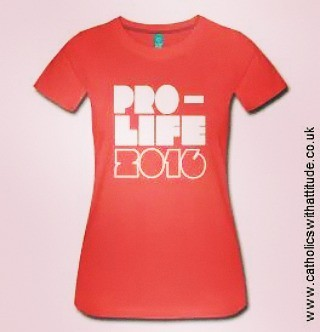New #prolife tees now in stock at http://www catholicswith