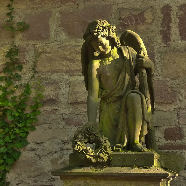 The Ancient City Graveyard of Freiburg 01