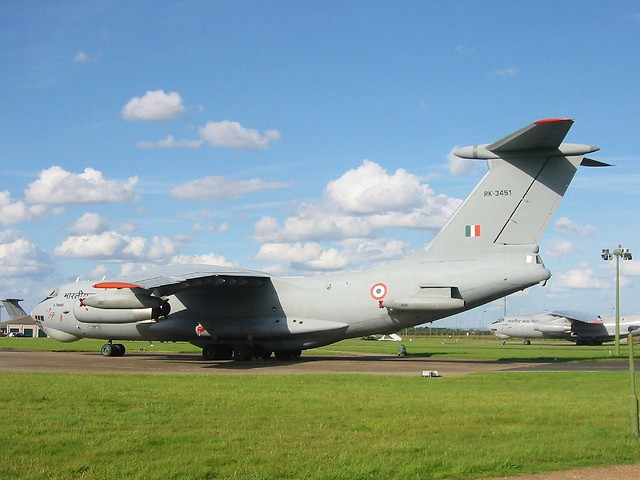 Il-78MKI RK-3451 78Sq, Indian-AF. RAF Waddington, 14-07-2007.