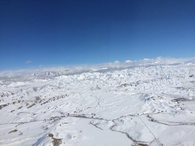 水, 2016-02-03 13:34 - Montrose - Denver 間の上空
