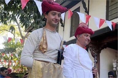 Khargone: Holkar dynasty prince Shivaji Rao (Richard) and