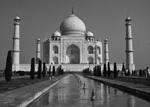 INDIEN, Agra - Taj Mahal - Mausoleum , serie , 13364/6260