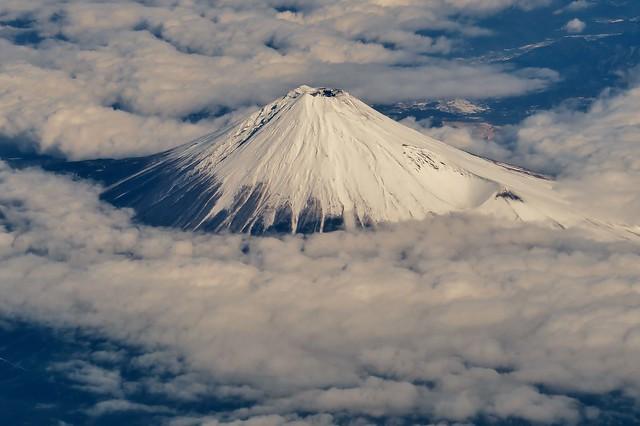 Mt.Fuji - Beautiful winter view