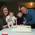 The Sweeneys and the cake