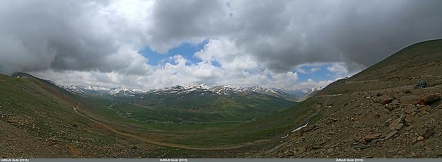 Panorama of Babusar Top