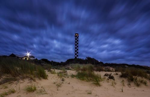 ocean longexposure lighthouse beach grass clouds evening sand indian dunes bunbury