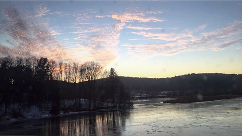 sunset sky usa rio river photography vermont magic