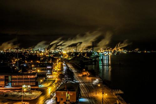 canada sarnia refinery industriallandscape stclaireriver chemicalvalley