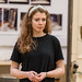 Meghan Tyler in rehearsals for The Crucible, Lyceum Theatre