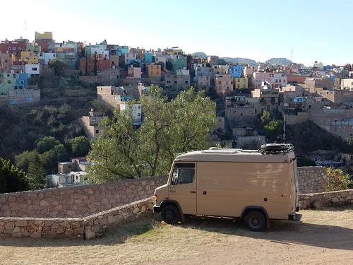 Guanajuato - camping