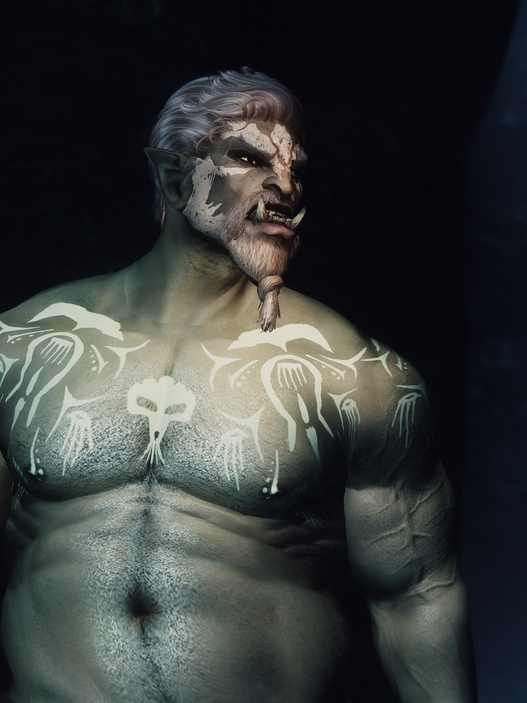 Orc sexiness | SAM-shape atlas for men Skysight skin's norma
