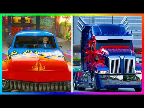 GTA 5 Optimus Prime SlamVan Custom Paint jobs | Watch this v… | Flickr