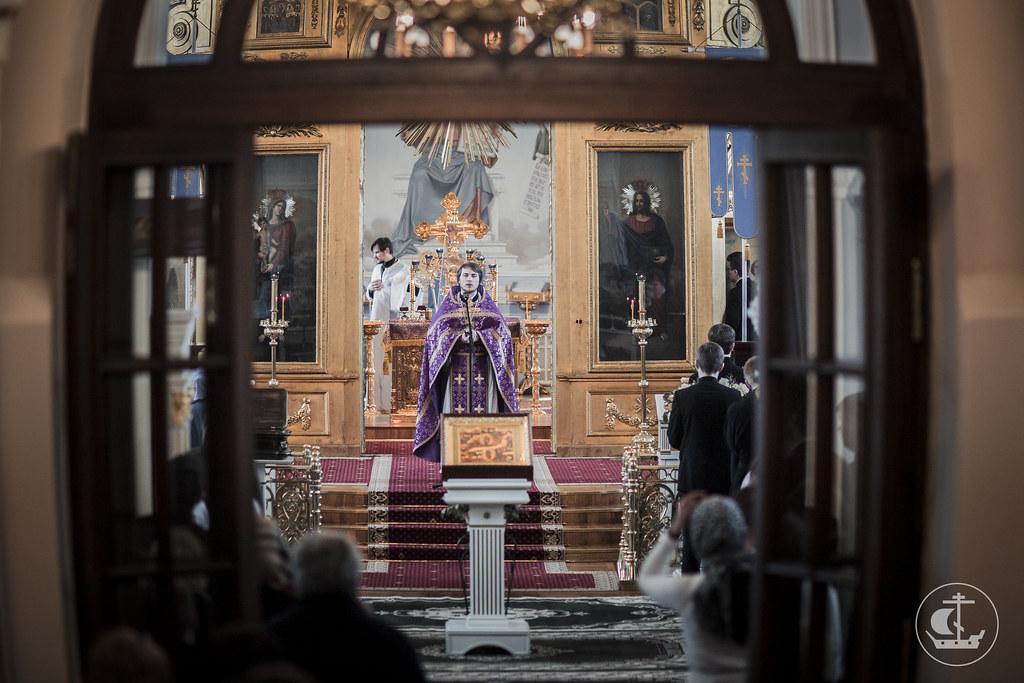 9-10 апреля 2016, Неделя 4-я Великого поста / 9-10 April 2016, Fourth Sunday of Great Lent