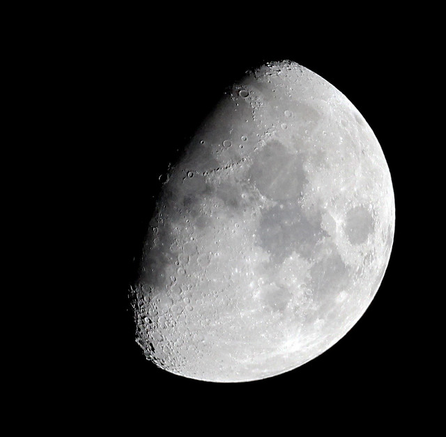The Moon on 17 March 2016