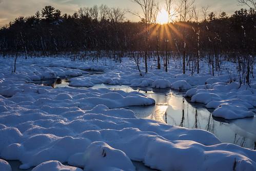 winter sunset landscape newengland harvardma canon5dmarkii