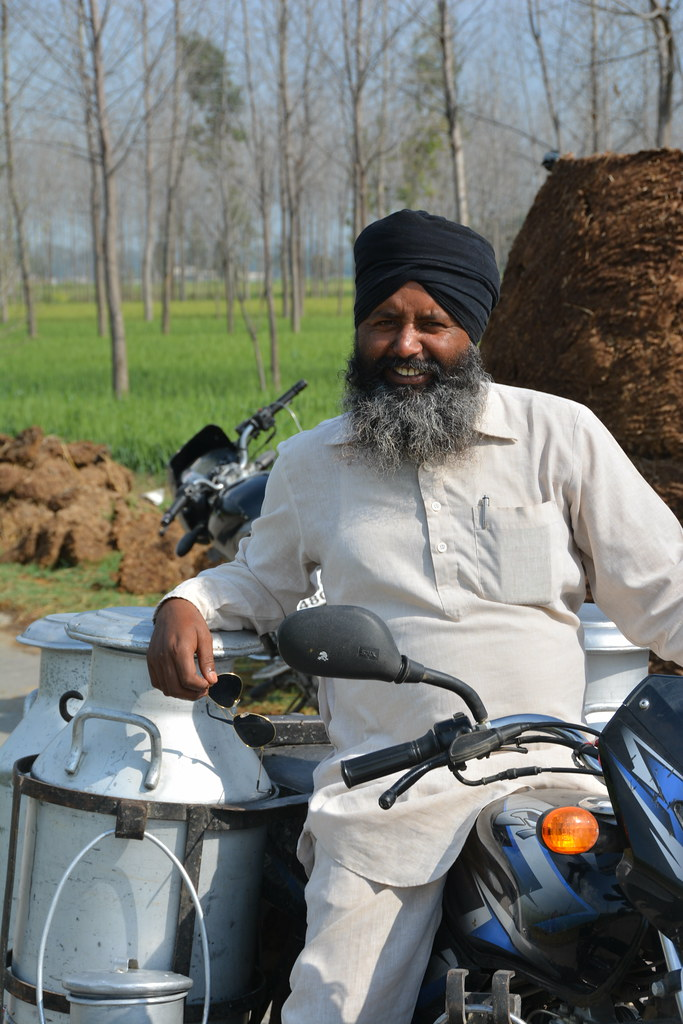 Get Free Credit Report >> Indian milkman   Milkman on the outskirts of Karnal ...