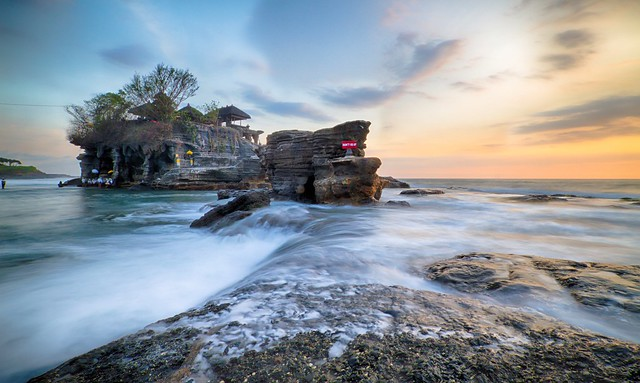 Sunset rolls in • Tanah Lot Temple, Bali